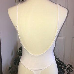 099f0d92d6 naked wardrobe Tops - Low cut Bodysuit